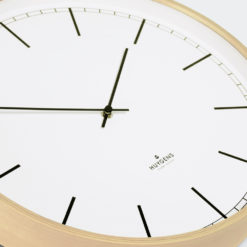 Huygens wall clock wood Index